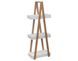 Półka łazienkowa 3 poziomy bambus, wieszak łazienkowy