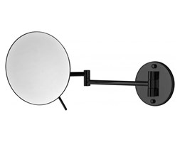 STELLA 22.01430-B lusterko kosmetyczne ścienne powiększające czarne