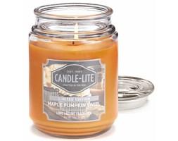 Świeca zapachowa Candle-lite duża w szkle 510 g - Maple Pumpkin Swirl