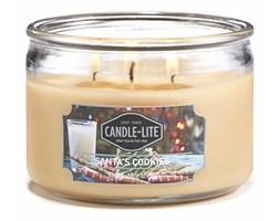 Świeca zapachowa Candle-lite trzy knoty 283 g - Santa's Cookies
