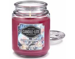 Świeca zapachowa Candle-lite duża w szkle 510 g - Autumn Flannel