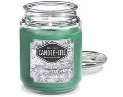 Świeca zapachowa Candle-lite duża w szkle 510 g - Snowy Winter Spruce