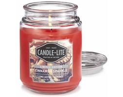 Świeca zapachowa Candle-lite duża w szkle 510 g - Cinnamon Sparkle