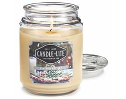 Świeca zapachowa Candle-lite duża w szkle 510 g - Santa's Cookies