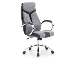 Krzesło biurowe szare regulowana wysokość FORMULA 1