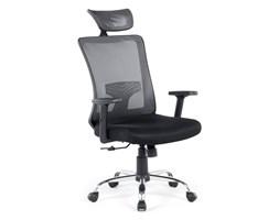 Krzesło biurowe czarne regulowana wysokość NOBLE