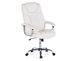 Krzesło biurowe beżowe regulowana wysokość ADVANCE