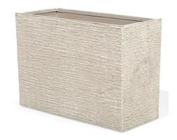 Doniczka beżowa prostokątna 34 x 80 x 56 cm EDESSA