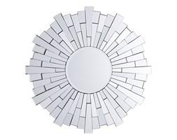 Lustro ścienne srebrne ø70 cm VIRE