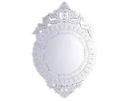 Lustro ścienne srebrne 67 x 100 cm CRAON