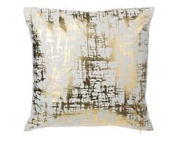 Poduszka dekoracyjna bawełniana złota 45 x 45 cm GARDENIA