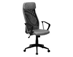 Krzesło biurowe ciemnoszare regulowana wysokość PIONEER