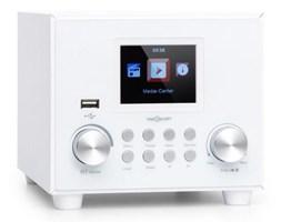 Auna Streamo Cube, radio internetowe, 3 W  5 W RMS, WiFi, Bluetooth, białe