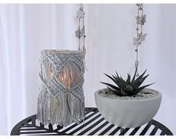 Lampion, świecznik - dekoracja salonu