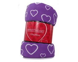 Koc - Sweetheart 150x200 - Fiolet