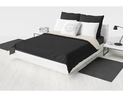 Narzuta dwustronna Atlanta 150x200cm  Biały/Czarny