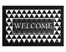 Wycieraczka Noir&Floor Welcome 40x60 cm czarny
