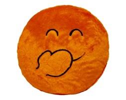 Poduszka Super Smile okrągła 45 cm Pomarańcz