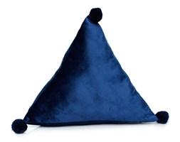 Poduszka TREVI VELVET piramida 40x40x40 Granat