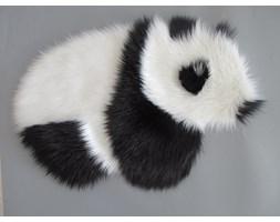 Dywanik FURRY eco FUTRO Panda 50x80 Czarny i biały