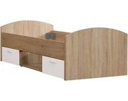 Łóżko Młodzieżowe 90x200 cm z Szufladami Winnie