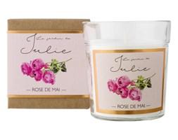 Świeca zapachowa ROSE DE MAI Le jardin de Julie  - DECOSALON - 100% zadowolonych klientów!