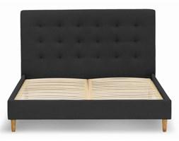 Łóżko Solrosor (140X200)  (bawełna 63%, len 37% ONYKS :len bawełna/onyks)