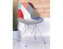 Krzesło tapicerowane CHARLIE TAP B patchwork