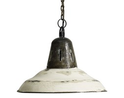 ŻELAZNA LAMPA OLD WHITE