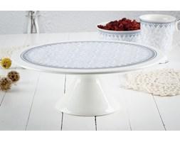 Patera porcelanowa DUO KARYNTIA 28 cm -- biały niebieski - rabat 10 zł na pierwsze zakupy!