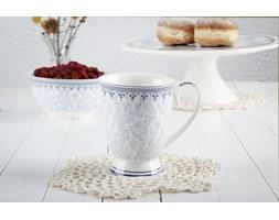 Kubek porcelanowy DUO KARYNTIA 270 ml -- biały niebieski - rabat 10 zł na pierwsze zakupy!