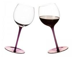 Kieliszki bujające do wina - Sagaform - Bar - purpurowe