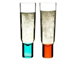 Kieliszki do szampana - Sagaform - Club - niebieski-pomarańczowy