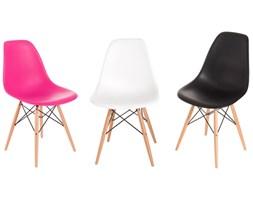 Krzesło P016W PP dark pink, drewniane nogi kod: DK-24252 - do kupienia: www.superwnetrze.pl