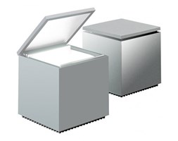 Lampka Cuboluce srebrna DK-18741 - do kupienia: www.superwnetrze.pl