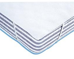 Ochraniacz na materac z moltonu, gramatura 400 g/m², powlekany nieprzepuszczalnym materiałem z PCW