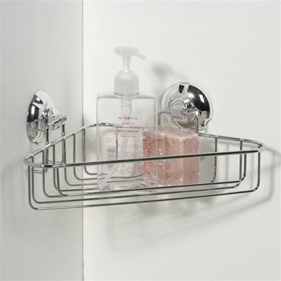 Narożna półka do łazienki