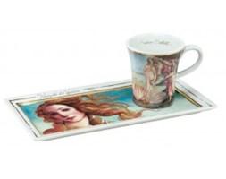 Narodziny Venus Sandro Botticelli Zestaw do Espresso Edycja Limitowana Goebel Edycja Limitowana 66-513-92-0