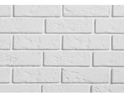 Kamień dekoracyjny wewnętrzny - Stegu - Parma - Biały kamień - narożnik