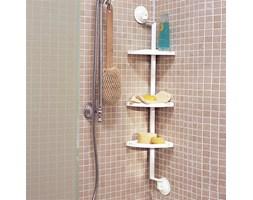 Narożna półka pod prysznic lub na wannę
