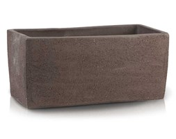 Donica ZEN 28.025.33 rynna ceramiczna 330 x 110mm Brąz