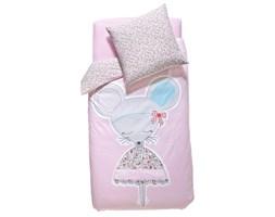 Komplet pościeli dziecięcej: poszwa na kołdrę + poszewka na poduszkę, MOUSE